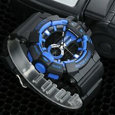 Men's Boys Digital Analog LED Date Alarm Military Army Sport Watch Waterproof