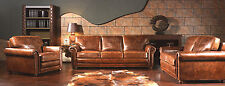 THE HUDSON ANTIQUE LEATHER LOUNGE