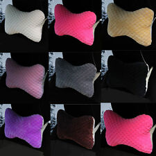 New Soft Comfy Plush Car Seat Head Neck Relax Rest Headrest Cushion Pillow Pad