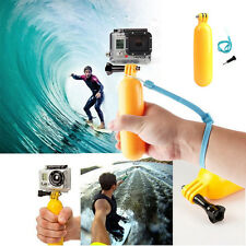 Float Floating Hand Handle Grip Mount + Waterproof Dive Housing Case For GoPro