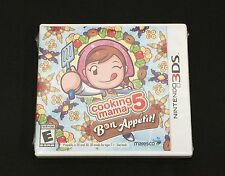 Cooking Mama 5: Bon Appetit!~Nintendo 3DS/3DS XL Game~BRAND NEW~Sealed NTSC US