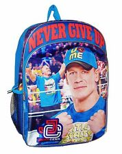 "WWE SUPERSTAR JOHN CENA 16"" Full-Size Backpack w/ Optional Insulated Lunch Box"