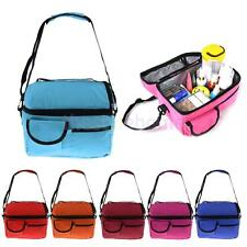 Insulated Thermal Cooler Shoulder Lunch Bag Storage Box Tote Baby Bottle Bags