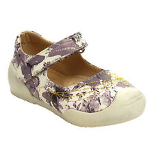 FLORICIENTA Girl's Mary Jane Floral Pattern Comfort Flats LILAC;PINK;WHITE