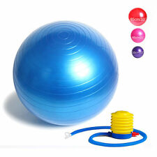 Exercise Ball Yoga Ball 65cm / 85cm Yoga Birthing Stability Swiss Ball with Pump