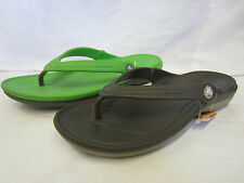 CROCS Mens Toe Post Flip Flops 'Duet flip'
