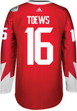 Jonathan Toews Team Canada World Cup Of Hockey Adidas Premier Home Jersey