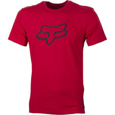 Fox Racing Legacy Foxhead Mens T-shirt - Red All Sizes