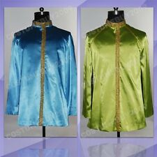 Star Trek TNG Jean-Luc Picard Jacket Uniform Outfit Cosplay Costume Blue/Green