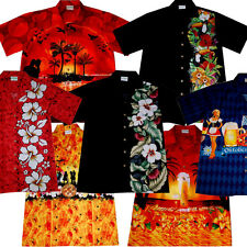 Hawaiian Shirt / M - 6XL / 100% cotton Mens Hawaian Hawai Hawaii Shirts Beer Sun