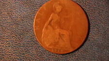 1919  GREAT BRITAIN.. 1/2 Half Penny coin.. . King George V  377A9