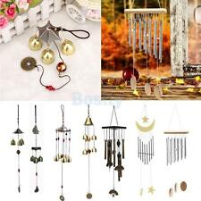 Chinese Metal Big Bell Tubes Wind Chime Living Garden Classical Hanging Decor