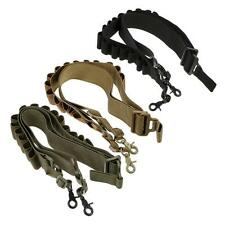 Tactical 2 Point Rifle Shotgun Sling 15 Shell Ammo Holder Bandolier 12Ga 20Ga