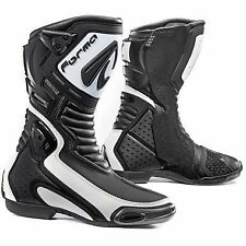 Forma Mirage Dry White Waterproof Motorcycle Race Boots White