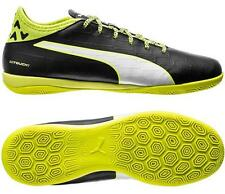 Puma evoTouch 2 IT Men's Indoor Soccer Football Shoes Black/Yellow/White 1608