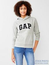 BRAND NEW GAP WOMEN'S SOFT FLEECE LOGO HOODIE PULLOVER SWEATSHIRT SIZES M-L