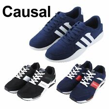 MENS TRAINER LACE BLACK BOOTS FASHION TRAINERS MENS SHOES SPORTS SHOES UK EU