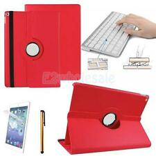 Bluetooth Keyboard PU Leather Case Rotating Cover for ipad Pro 12.9inch Desktop