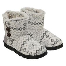 Dearfoams Ladies' Sweater Knit Booties, Slippers (Select Color / Size) FAST SHIP