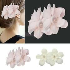 6pcs Wedding Bridal Bridesmaid Crystal Rhinestone Flower Hair Pins Clip Heapiece