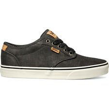 Vans Atwood Deluxe Mens Footwear Shoe - Washed Twill Black Marshmallow All Sizes