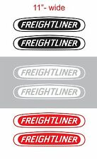 "2pcs 11"" FREIGHTLINER Vinyl Sticker Decal Graphic COLUMBIA CASCADIA SEMI TRUCK"