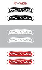 "2pcs 8"" FREIGHTLINER Vinyl Sticker Decal Graphic COLUMBIA CASCADIA SEMI TRUCK"