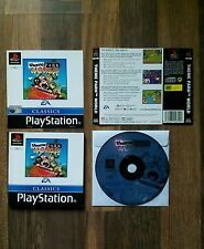 THEME PARK WORLD - Playstation PS1 Game - Complete but no Case