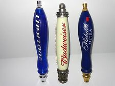 THREE Beer Tap Handles - (Budweiser / Michelob