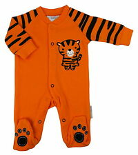 Cute Tiger design all in one babygrow by Nursery Time