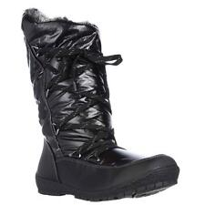 Sporto Charles Angled Calf Waterproof Winter Boots - Black