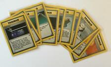 POKEMON Base CARD Never Played Adult Owned Trainer Card U CHOOSE Numbers 71 - 95