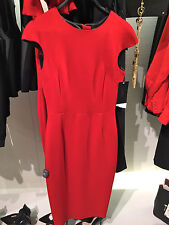 NEW STUNNING ZARA WOMAN RED TUBE DRESS WITH ZIP AT BACK. Size M & L REF.8075/349