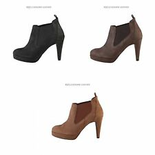 Arnaldo Toscani Womens/Ladies Slip on Heeled Ankle Boots