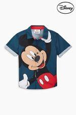 Next Disney Baby Boys Mickey Mouse Shirt, 3-6, 6-9, 9-12 and 18-24 Months