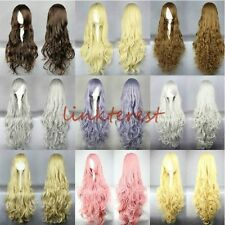 40 shades 3 styles Stylish Anime Wigs Long Curly Lady Heat Resistant Cosplay wig