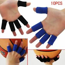 10PCS Sports Elastic Finger Wrap Guard Band Nylon Sleeve Caps Protector