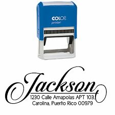 Pre Inked Custom Stamps Personalized Family Return Address Stamper
