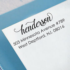 Custom Self Inking Family Address Stamps Personalize Return Address Rubber Stamp