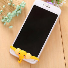 Cute Sexy Elephant Underwear Silicone Button Protector Case Phone Dust Plugs