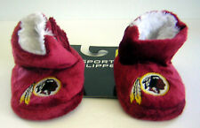 Washington Redskins Baby Infant Child Plush Faux Fur Boot Slippers Booties Shoes
