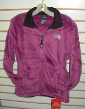 THE NORTH FACE WOMENS OSITO FLEECE JACKET- #AAHY- S- PLUSH PURPLE