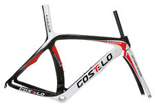 Costelo LUCCA Road Bike/TT Bicycle carbon frame Monocoque Toray T1000 1K WEAVE
