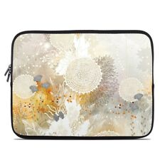 Zipper Sleeve Bag Cover - White Velvet - Fits Most Laptops + MacBooks