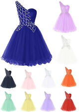 Sequins Homecoming Dress One Shoulder Prom Cocktail Evening Dresses Pageant