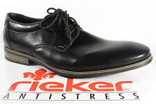 Rieker Lace up Sneakers Low Shoes black new