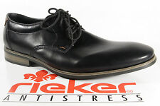 Rieker Lace up Sneakers Low Shoes black 10610 NEW