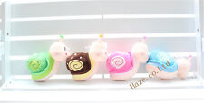 Lovely Snail Character Plush soft toy Stuffed Animal Cartoon doll 8""