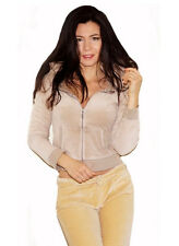 """NEW! """"Victoria's Secret"""" Sexy, Soft, Plush & Lush, Zip Up Hooded Top, S"""