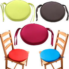 Hot Chair Cushion Tie On Cushion Seat Pad Indoor Patio Round Office Chair Dining